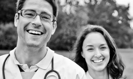 Medizinisches Personal aus Südamerika
