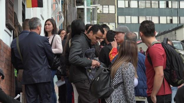 Pflegekräfte in Bogotá